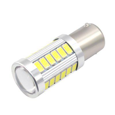 2PCS LED BA15S P21W 1156 DRL Daytime Light Blanco White Bulb 33-SMD 5630 5730 12V