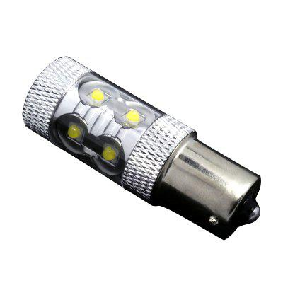 2PCS 6000K White High Power 1156 BA15S CREE 10-SMD 3W LED Light bulbs 12V 1141Car Headlights<br>2PCS 6000K White High Power 1156 BA15S CREE 10-SMD 3W LED Light bulbs 12V 1141<br><br>Apply lamp position: External Lights<br>Color temperatures: 6000-6500K<br>Connector: 1156<br>Emitting color: White<br>Feature: Power saver, Low Power Consumption, Easy to use, Spotlight<br>Identification: CE<br>LED Type: CREE<br>LED/Bulb quantity: 10<br>Light mode: Steady<br>Lumens: 800LM<br>Package Contents: 2 x Car Led Light<br>Package size (L x W x H): 10.00 x 6.00 x 4.00 cm / 3.94 x 2.36 x 1.57 inches<br>Package weight: 0.0310 kg<br>Power: 6W<br>Product size (L x W x H): 5.60 x 2.00 x 2.00 cm / 2.2 x 0.79 x 0.79 inches<br>Product weight: 0.0300 kg<br>Type: Steering Light, Daytime Running Light, Tail Light, Rear Lights, Rear Turn Signal, Bumper Light, Backup Light, Width Light, Car LED<br>Type of lamp-house: LED<br>Voltage: 12V-24V