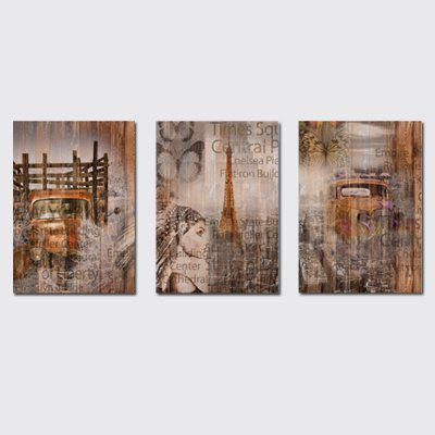 QiaoJiaHuaYuan No Frame Canvas  a Picture of the Living Room Sofa Background Print