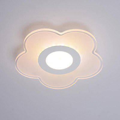 Modern Indoor Flower Round LED Wall Light Balcony Ceiling Lamp Simple Nice Luminaire Porch Lighting