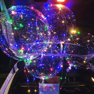 18inch Bobo Ball Transparent Flexible Plastic Helium Balloon Durable Wedding Party Birthday Decoration