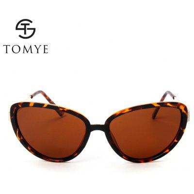 TOMYE P6066 Women Cat Eye Polarized SunglassesWomens Sunglasses<br>TOMYE P6066 Women Cat Eye Polarized Sunglasses<br><br>Brand: TOMYE<br>Frame Length: 148mm<br>Frame material: Acetate<br>Gender: For Women<br>Group: Adult<br>Lens height: 52mm<br>Lens material: Resin<br>Lens width: 58mm<br>Lenses Optical Attribute: Polarized<br>Nose: 16<br>Package Contents: 1 x Pair of Sunglasses<br>Package size (L x W x H): 17.00 x 9.00 x 7.00 cm / 6.69 x 3.54 x 2.76 inches<br>Package weight: 0.0500 kg<br>Product weight: 0.0230 kg<br>Style: Cat Eye<br>Temple Length: 134mm