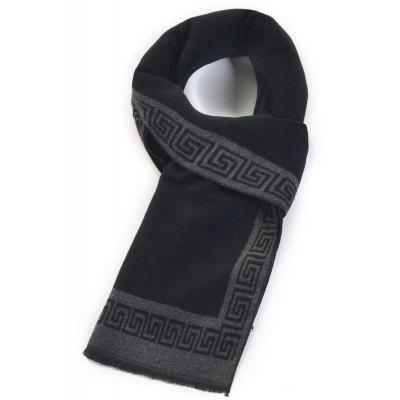 New Autumn Winter Men's Scarf Flannelette Warm and Classic Checked The Business Casual Scarf