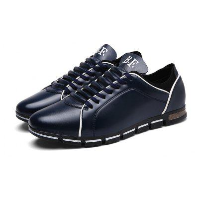 Men Casual Trend for Fashion Hiking Outdoor Sport Leather Spring ShoesMen's Sneakers<br>Men Casual Trend for Fashion Hiking Outdoor Sport Leather Spring Shoes<br><br>Available Size: 39-44<br>Closure Type: Lace-Up<br>Embellishment: None<br>Gender: For Men<br>Outsole Material: Rubber<br>Package Contents: 1x shoes pair<br>Pattern Type: Solid<br>Season: Summer, Spring/Fall<br>Toe Shape: Round Toe<br>Toe Style: Closed Toe<br>Upper Material: PU<br>Weight: 1.2000kg
