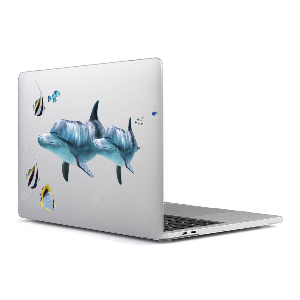 Computer Shell Laptop Case Keyboard Film for MacBook Air 13.3 inch 3D Marine Life 10