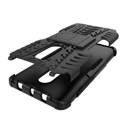 for Xiaomi Redmi Note 4 / 4X Case Cover Hybrid Rugged Heavy Duty Hard  with KickstandCases &amp; Leather<br>for Xiaomi Redmi Note 4 / 4X Case Cover Hybrid Rugged Heavy Duty Hard  with Kickstand<br><br>Features: Back Cover, Button Protector<br>Material: TPU, PC<br>Package Contents: 1 x Phone Case<br>Package size (L x W x H): 15.00 x 7.00 x 2.00 cm / 5.91 x 2.76 x 0.79 inches<br>Package weight: 0.0750 kg<br>Product weight: 0.0500 kg<br>Style: Solid Color