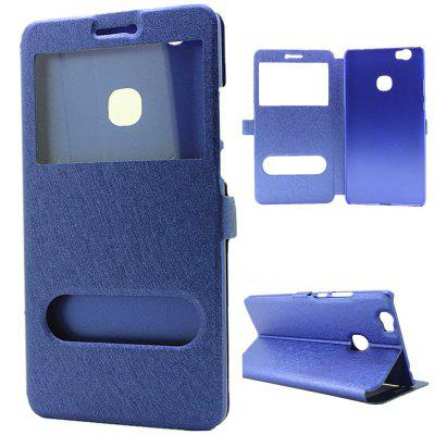 Cover Case for Samsung Galaxy Note 8 Slik Pattern Double Open Window Leather