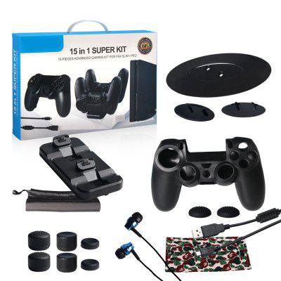 15 Pieces Advanced Gaming Kit for Ps4 Slim / Pro