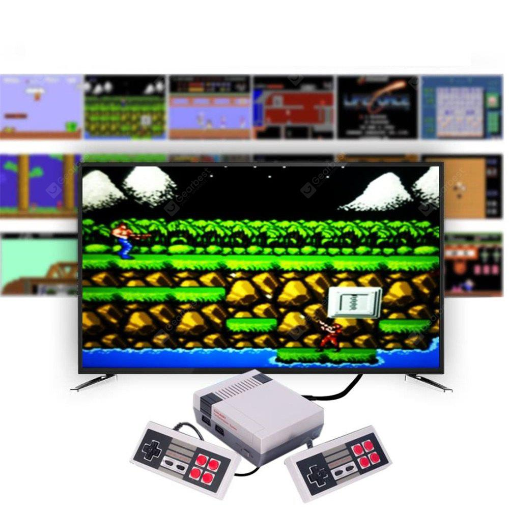 Classic Handheld Game Player Mini Family TV Video Game Console Childhood Built-In 500 Games