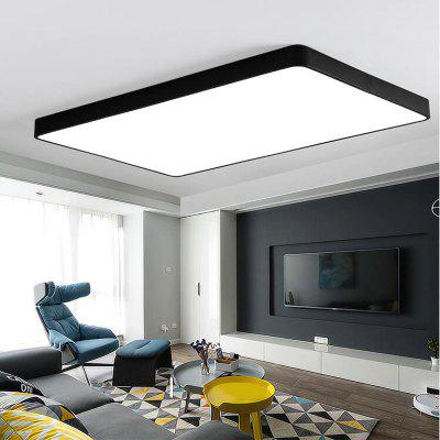 Black Frame 48 Watts Super Thin Led Ceiling Light 65 x 43 CmFlush Ceiling Lights<br>Black Frame 48 Watts Super Thin Led Ceiling Light 65 x 43 Cm<br><br>Bulb Base: LED Integrated<br>Bulb Type: LED<br>Color Temperature or Wavelength: white light  2500K-6500K, warm white light 1800K- 4000K<br>Decoration Material: Acrylic<br>Dimmable: No<br>Features: Eye Protection, Anti-Glare<br>Fixture Material: Metal<br>Package Contents: 1 x Ceiling Light<br>Package size (L x W x H): 67.00 x 45.00 x 7.00 cm / 26.38 x 17.72 x 2.76 inches<br>Package weight: 3.4000 kg<br>Product size (L x W x H): 65.00 x 43.00 x 5.00 cm / 25.59 x 16.93 x 1.97 inches<br>Product weight: 3.2000 kg<br>Remote Control Supported: No<br>Shade Material: Acrylic<br>Stepless Dimming: No<br>Style: LED, Simple Style, Chic &amp; Modern, Modern/Contemporary<br>Suggested Room Size: 15 - 20?<br>Suggested Space Fit: Living Room,Bathroom,Bedroom,Dining Room,Office,Kids Room,Garage,Kitchen,Garde,Hallway,Boys Room,Girls Room,Game Room,Indoors,Study Room<br>Type: Ceiling Light<br>Voltage ( V ): 111 - 240V<br>Wattage (W): 48W