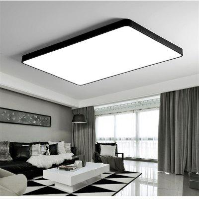 Black Frame 48 Watts Super Thin Led Ceiling Light 65 x 43 Cm
