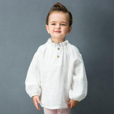 2017 Yingzifang Toddler Girls Casual Solid Colour Sleeves Folded Collar Linen Cotton TeeGirls tops &amp; T-shirts<br>2017 Yingzifang Toddler Girls Casual Solid Colour Sleeves Folded Collar Linen Cotton Tee<br><br>Collar: Cowl Neck<br>Gender: Girls<br>Material: Cotton, Linen<br>Package Contents: 1 x T-shirt<br>Pattern Type: Solid<br>Season: Spring, Fall<br>Shirt Length: Regular<br>Sleeve Length: Full<br>Sleeve Type: Puff Sleeve<br>Style: Casual<br>Weight: 0.2976kg