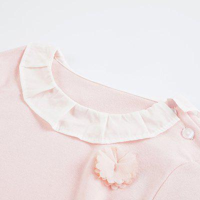 2018 Fashion Cute Lolita Style Girls Clothing Sets Solid Flower Long Sleeve Shirt + Flower Print SkirtGirls clothing sets<br>2018 Fashion Cute Lolita Style Girls Clothing Sets Solid Flower Long Sleeve Shirt + Flower Print Skirt<br><br>Collar: Round Neck<br>Material: Cotton<br>Package Contents: 1 x Clothing Set<br>Pattern Type: Solid<br>Shirt Length: Regular<br>Sleeve Length: Full<br>Style: Sweet<br>Weight: 0.2976kg