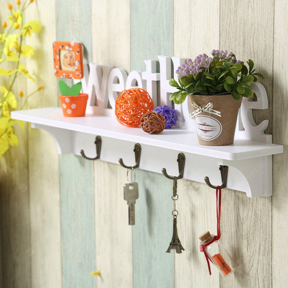 Decorative Wall Shelves WPC Board Storage Holders  Home Decorations
