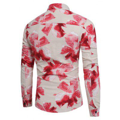 The Young MenS Fashion Personality Slim Floral Print Floral Shirt Polo Collar ShirtMens Shirts<br>The Young MenS Fashion Personality Slim Floral Print Floral Shirt Polo Collar Shirt<br><br>Collar: Turn-down Collar<br>Fabric Type: Polyester<br>Material: Polyester<br>Package Contents: 1 x Shirt<br>Shirts Type: Casual Shirts<br>Sleeve Length: Full<br>Weight: 0.2500kg