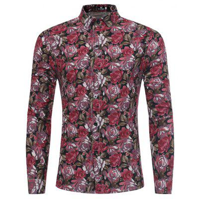 New Type of Printed Long Sleeved Shirt