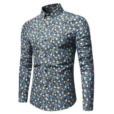 New Spring Sleeved Handsome Slim Floral Print ShirtMens Shirts<br>New Spring Sleeved Handsome Slim Floral Print Shirt<br><br>Collar: Turn-down Collar<br>Fabric Type: Polyester<br>Material: Polyester<br>Package Contents: 1 xShirt<br>Shirts Type: Casual Shirts<br>Sleeve Length: Full<br>Weight: 0.2500kg