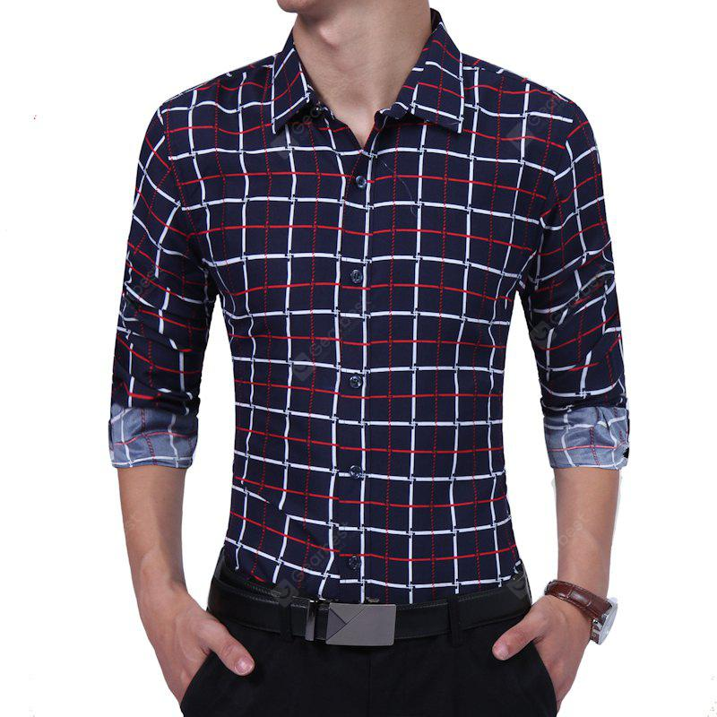Casual Checker Youth Business Shirt