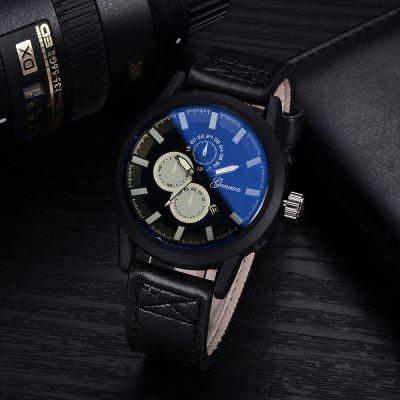 GON030 Men Fashion Leather Band Dress WatchMens Watches<br>GON030 Men Fashion Leather Band Dress Watch<br><br>Band material: PU<br>Band size: 26 x 2.1 CM<br>Case material: Alloy<br>Clasp type: Pin buckle<br>Dial size: 4.5 x 4.5 x 1.1 CM<br>Display type: Analog<br>Movement type: Quartz watch<br>Package Contents: 1 x Watch<br>Package size (L x W x H): 29.00 x 6.50 x 1.20 cm / 11.42 x 2.56 x 0.47 inches<br>Package weight: 0.0520 kg<br>Product size (L x W x H): 26.00 x 4.50 x 1.10 cm / 10.24 x 1.77 x 0.43 inches<br>Product weight: 0.0500 kg<br>Shape of the dial: Round<br>Special features: Day<br>Watch mirror: Mineral glass<br>Watch style: Business, Trends in outdoor sports, Fashion, Casual<br>Watches categories: Men