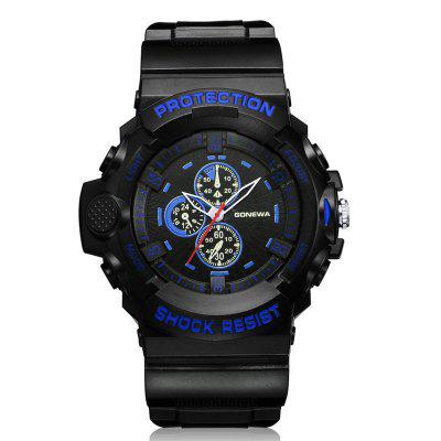 GON049 Men Analog Quartz Silicon Sports Wrist Watch