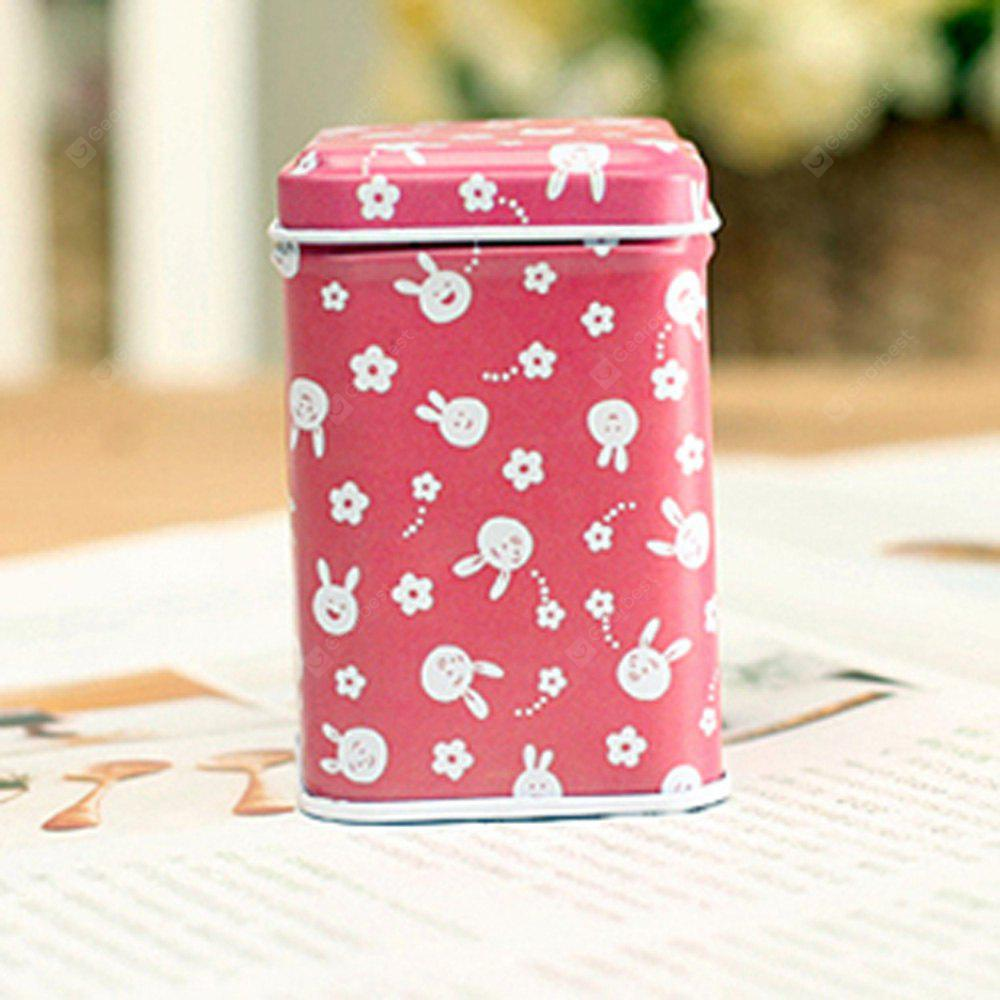 Mini Square Storage Tin Box