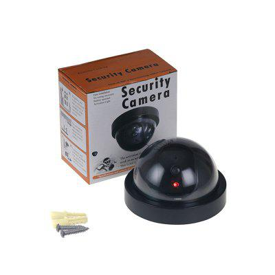 Dummy Fake Camera Outdoor Indoor Fake Surveillance Camera Dome CCTV Security Camera With Flashing Red LED Light