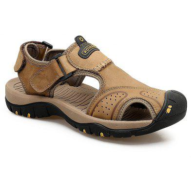New Leather Hollow Casual Sandals