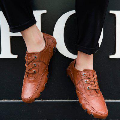 The New Leather Octopus Lace Business Casual ShoesMen's Oxford<br>The New Leather Octopus Lace Business Casual Shoes<br><br>Available Size: 38-46<br>Closure Type: Lace-Up<br>Embellishment: None<br>Gender: For Men<br>Outsole Material: Rubber<br>Package Contents: 1xshoes(pair)<br>Pattern Type: Solid<br>Season: Summer, Spring/Fall<br>Toe Shape: Round Toe<br>Toe Style: Closed Toe<br>Upper Material: Genuine Leather<br>Weight: 1.5840kg