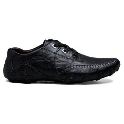 The New Leather Octopus Lace Business Casual Shoes