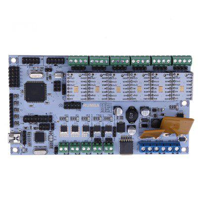 3D Printer Start Kits Mother Board Rumba Board With 6PCS TMC2100 Stepper Driver 6PCS Heatsink