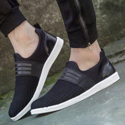 Mens Sports Fashion Shoes Striped Design Casual Ventilate Comfy ShoesCasual Shoes<br>Mens Sports Fashion Shoes Striped Design Casual Ventilate Comfy Shoes<br><br>Available Size: 39-44<br>Closure Type: Elastic band<br>Embellishment: None<br>Gender: For Men<br>Occasion: Casual<br>Outsole Material: Rubber<br>Package Contents: 1 x Shoes (pair)<br>Pattern Type: Solid<br>Season: Spring/Fall<br>Shoe Width: Medium(B/M)<br>Toe Shape: Round Toe<br>Toe Style: Closed Toe<br>Upper Material: Cloth<br>Weight: 0.8400kg