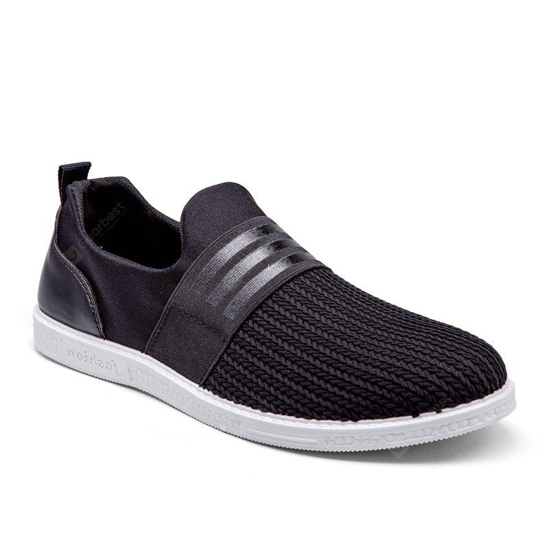 Men's Sports Fashion Shoes Striped Design Casual Ventilate Comfy Shoes