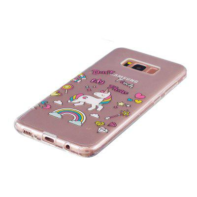 for Samsung Galaxy S8 Unicorn Pattern Painted High Penetration TPU Material IMD Process Soft Case Phone Casefor Samsung Galaxy S8 Unicorn Pattern Painted High Penetration TPU Material IMD Process Soft Case Phone Case<br><br>Features: Full Body Cases<br>Material: TPU<br>Package Contents: 1 x Phone Case<br>Package size (L x W x H): 16.00 x 6.00 x 0.30 cm / 6.3 x 2.36 x 0.12 inches<br>Package weight: 0.0100 kg<br>Style: Animal, Cartoon, Anime