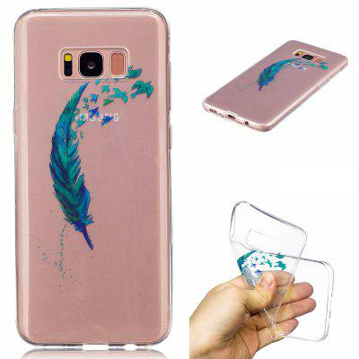for Samsung Galaxy S8  Lanyumao Pattern Painted High Penetration TPU Material IMD Process Soft Case Phone Case