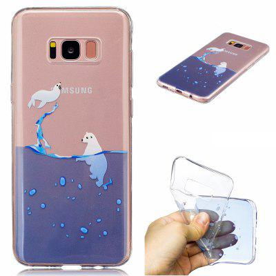 for Samsung Galaxy S8 Two seals Pattern Painted High Penetration TPU Material IMD Process Soft Case Phone Case
