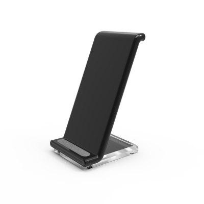 QI Wireless Charger Transmitter Fast Charging Stand for Samsung Galaxy S8, S8 Plus, S7,S7Edge, S6Edge+, iPhone X, 8, 8+