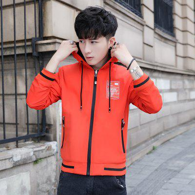 Mens Casual Jacket Color Block Zipper Hooded Reversible JacketMens Jackets &amp; Coats<br>Mens Casual Jacket Color Block Zipper Hooded Reversible Jacket<br><br>Clothes Type: Jackets<br>Collar: Collarless<br>Material: Polyester<br>Package Contents: 1 x Jacket<br>Season: Spring<br>Shirt Length: Short<br>Sleeve Length: Long Sleeves<br>Style: Casual<br>Weight: 0.6000kg