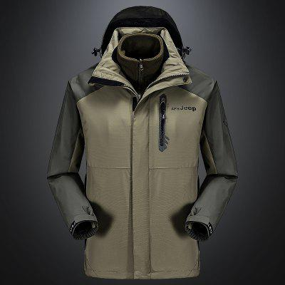 Mens Trench&amp;Rain Set Coat Casual Windproof Camping Outdoor CoatMens Jackets &amp; Coats<br>Mens Trench&amp;Rain Set Coat Casual Windproof Camping Outdoor Coat<br><br>Closure Type: Zipper<br>Clothes Type: Trench<br>Collar: Hooded<br>Detachable Part: Hat Detachable<br>Materials: Chinlon<br>Package Content: 1 x Coat<br>Package size (L x W x H): 1.00 x 1.00 x 1.00 cm / 0.39 x 0.39 x 0.39 inches<br>Package weight: 1.2000 kg<br>Shirt Length: Regular<br>Size1: M,L,XL,4XL,2XL,3XL<br>Sleeve Style: Regular<br>Style: Casual<br>Technics: Printed<br>Thickness: Medium thickness