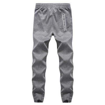 K004 Mens Active Pants Drawstring Side Print Jogging Long PantsMens Pants<br>K004 Mens Active Pants Drawstring Side Print Jogging Long Pants<br><br>Fit Type: Regular<br>Front Style: Flat<br>Material: Spandex, Cotton Blends<br>Package Contents: 1 X Pants<br>Pant Length: Long Pants<br>Pant Style: Straight<br>Style: Casual<br>Waist Type: Mid<br>Weight: 0.3000kg