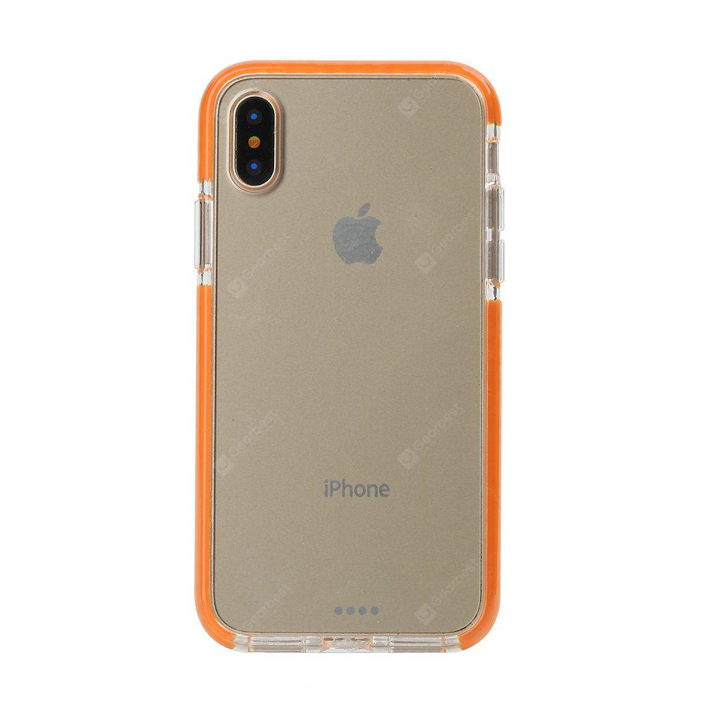 Hybrid TPU and PC and TPE Case with Air Cushion for iPhone X