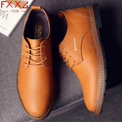 Frenulum Leather Shoes Men Fashion Casual Leather ShoesMen's Oxford<br>Frenulum Leather Shoes Men Fashion Casual Leather Shoes<br><br>Available Size: 38?39?40?41?42?43?44<br>Closure Type: Lace-Up<br>Embellishment: Letter<br>Gender: For Men<br>Outsole Material: Rubber<br>Package Contents: 1xshoes(pair)<br>Pattern Type: Solid<br>Season: Summer, Winter, Spring/Fall<br>Toe Shape: Round Toe<br>Toe Style: Closed Toe<br>Upper Material: Microfiber<br>Weight: 1.5600kg