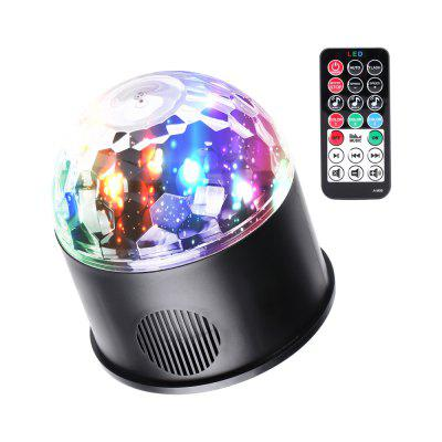 U'King 9W Bluetooth Music Player Sound Activated Rotatable Magic Ball Stage Effect Lighting with Remote Controller