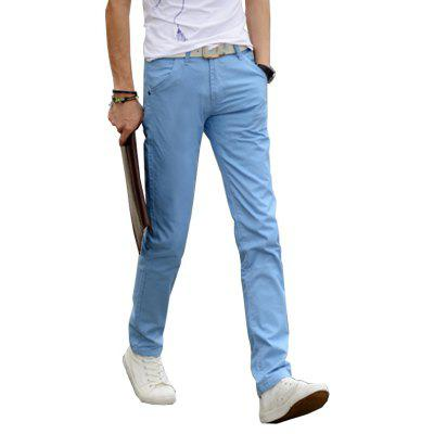 MenS Solid Straight Casual PantsMens Pants<br>MenS Solid Straight Casual Pants<br><br>Closure Type: Button Fly<br>Color: Black,Blue,Gray,Khaki,Navy,Wine red<br>Elasticity: Nonelastic<br>Fabric Type: Broadcloth<br>Fit Type: Straight<br>Front Style: Flat<br>Length: Normal<br>Material: Cotton<br>Package Contents: 1 x Pants<br>Package size (L x W x H): 1.00 x 1.00 x 1.00 cm / 0.39 x 0.39 x 0.39 inches<br>Package weight: 0.3200 kg<br>Pant Style: Straight<br>Pattern Type: Solid<br>Product weight: 0.3000 kg<br>Style: Casual<br>Thickness: Standard<br>Waist Type: Mid<br>With Belt: No