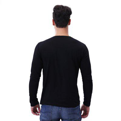 Casual V Neck Solid Long Sleeve T ShirtMens T-shirts<br>Casual V Neck Solid Long Sleeve T Shirt<br><br>Collar: V-Neck<br>Fabric Type: Broadcloth<br>Material: Polyester<br>Package Contents: 1 x T Shirt<br>Pattern Type: Solid<br>Sleeve Length: Full<br>Style: Casual<br>Weight: 0.2200kg