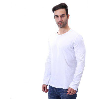 MenS Solid O Neck Casual Long Sleeve T ShirtMens T-shirts<br>MenS Solid O Neck Casual Long Sleeve T Shirt<br><br>Collar: Round Neck<br>Fabric Type: Broadcloth<br>Material: Polyester<br>Package Contents: 1 x T shirt<br>Pattern Type: Solid<br>Sleeve Length: Full<br>Style: Casual<br>Weight: 0.2200kg