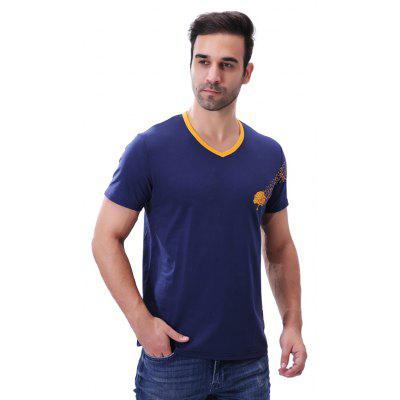 Fashion V Neck Tree Print Short Sleeve T ShirtMens T-shirts<br>Fashion V Neck Tree Print Short Sleeve T Shirt<br><br>Collar: V-Neck<br>Material: Cotton, Spandex<br>Package Contents: 1 x T Shirt<br>Pattern Type: Print<br>Sleeve Length: Short Sleeves<br>Style: Casual<br>Weight: 0.2100kg