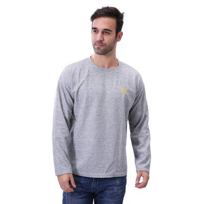 Round Neck Weather Printing Long Sleeve T ShirtMens T-shirts<br>Round Neck Weather Printing Long Sleeve T Shirt<br><br>Collar: Round Neck<br>Material: Cotton, Polyester<br>Package Contents: 1 x T Shirt<br>Pattern Type: Print<br>Sleeve Length: Full<br>Style: Casual<br>Weight: 0.2900kg