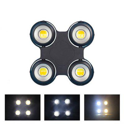 MITU SHOW 4 LEDs Blinder Light Warm White and Cold White 2 in 1 COB Par Audience Light