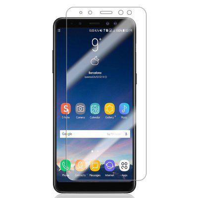 Buy TRANSPARENT 9H Hardness 0.2mm Tempered Glass Screen Protector Film for Samsung Galaxy A8, 2018 for $2.90 in GearBest store