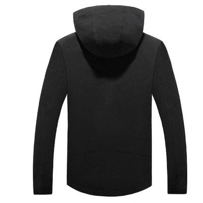 Mens Slim Hooded Windbreaker JacketMens Jackets &amp; Coats<br>Mens Slim Hooded Windbreaker Jacket<br><br>Clothes Type: Jackets<br>Collar: Hooded<br>Material: Polyester, Spandex<br>Package Contents: 1xJacket<br>Season: Spring, Fall, Winter<br>Shirt Length: Regular<br>Sleeve Length: Long Sleeves<br>Style: Casual<br>Weight: 0.7000kg